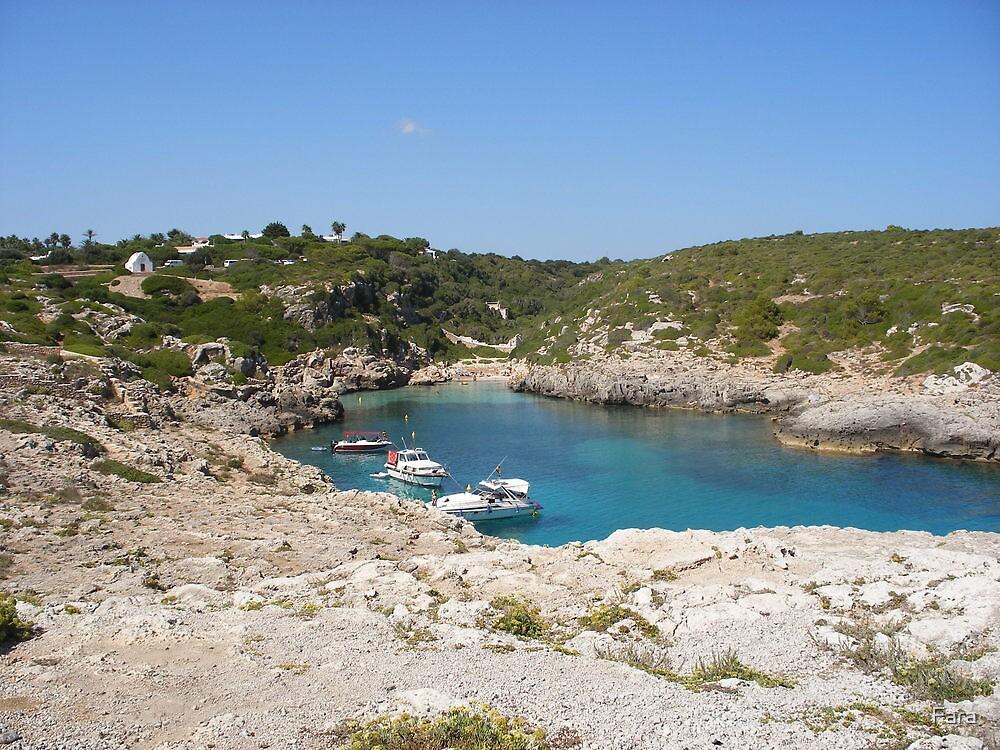 A quiet bay in Menorca. by Fara