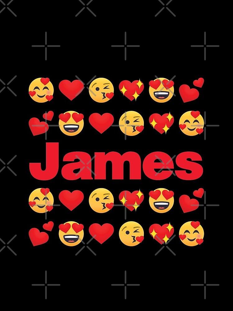 James Emoji My Love for Valentines day by el-patron