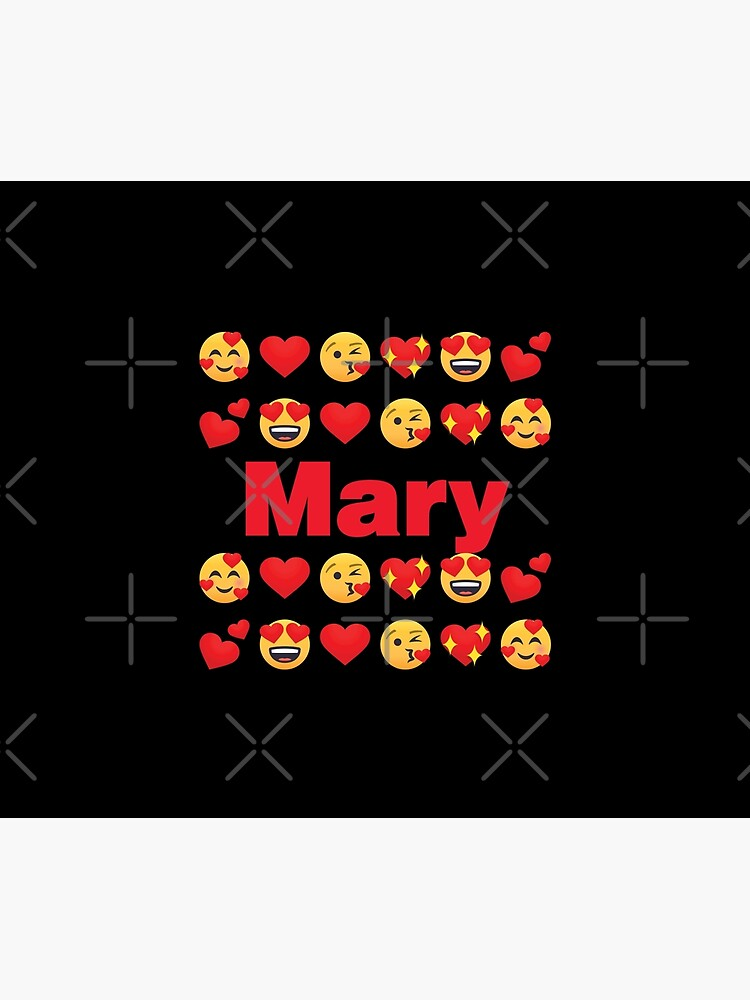 Mary Emoji My Love for Valentines day by el-patron