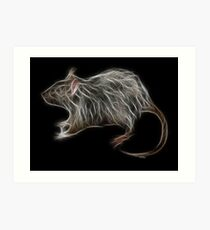 Rat - Chinese Zodiac by Liane Pinel Art Print