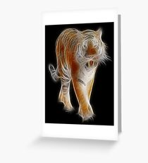 Tiger - Chinese Zodiac by Liane Pinel Greeting Card
