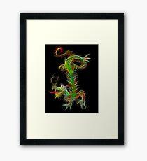 Dragon - Chinese Zodiac by Liane Pinel Framed Print