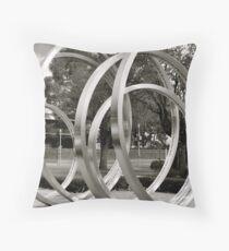 Circles within... Throw Pillow