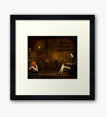 Indifference... Framed Print