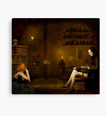 Indifference... Canvas Print