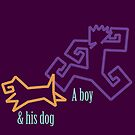 Boy & His Dog by a-roderick