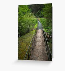 Footpath  Greeting Card