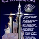 Camelot - The Dream (Poem and Art) - The T-shirt by michaelcrizzi