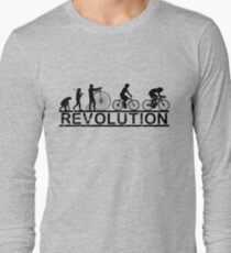 Cycling Revolution Langarmshirt