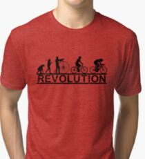 Cycling Revolution Tri-blend T-Shirt