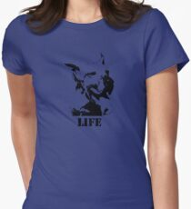 NO-KILL UNITED : ES LIFE Womens Fitted T-Shirt