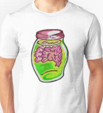 Zombie Brain Jar  T-Shirt