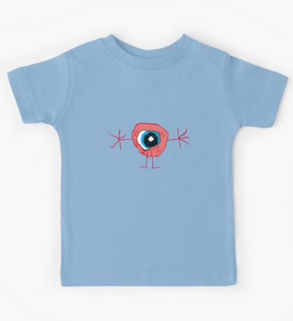 the eyeball man Kids Clothes