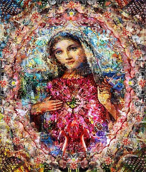 The Virgin Mary by Simon Currell