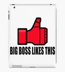 Big Boss likes this iPad Case/Skin