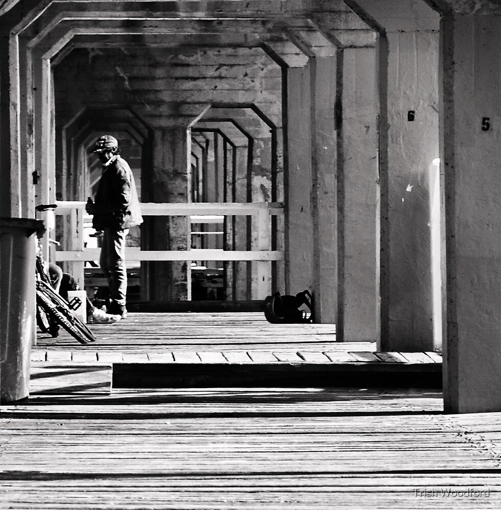 Under the Boardwalk by Trish Woodford