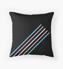 Transcend: On the Rise Throw Pillow