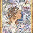 """Triptych """"Song of Songs"""" (left part) by Natalya   Tabatchikova"""