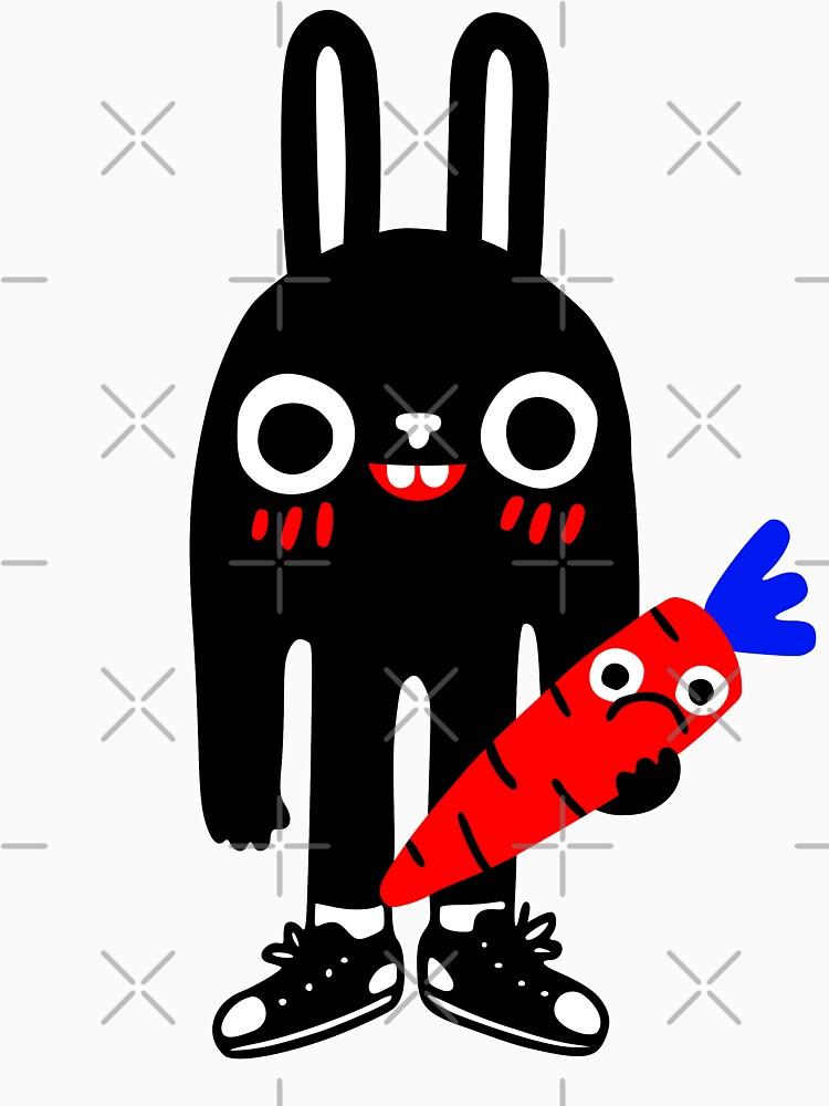 Rabbit Lunch Time by obinsun