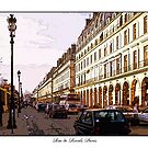 Rue De Rivoli, Paris by prbimages