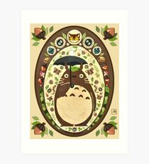 My Neighbor  Totoro Art Print