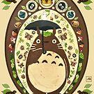 My Neighbor  Totoro by Julia Blattman