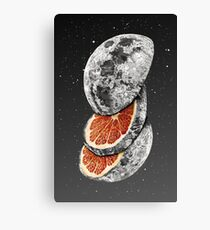 LUNAR FRUIT Canvas Print