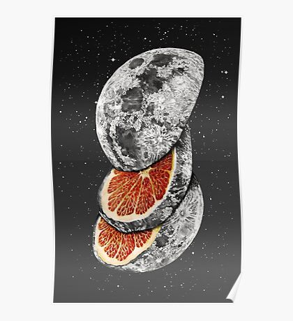 LUNAR FRUIT Poster