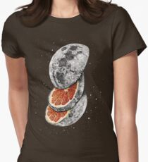 LUNAR FRUIT Womens Fitted T-Shirt