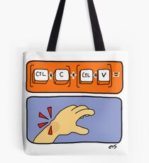 Data Entry Tote Bag