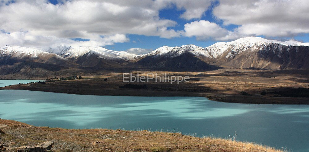 Lake Tekapo and the Southern Alps by EblePhilippe