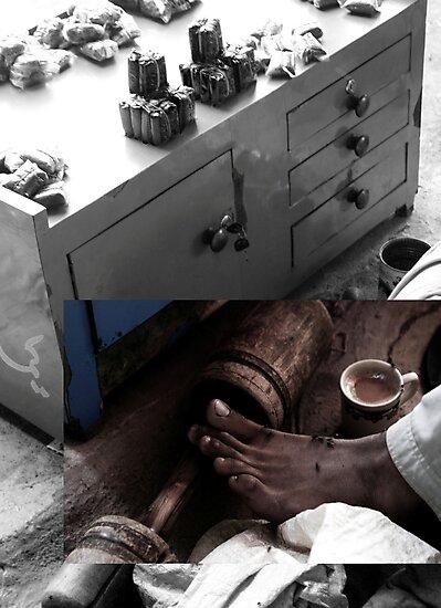 Feet  by Maliha Rao