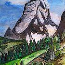 The Matterhorn Zermatt Switzerland by Monica Engeler