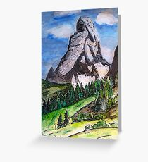 The Matterhorn Zermatt Switzerland Greeting Card