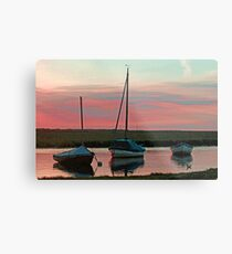 Blakeney Boats Metal Print