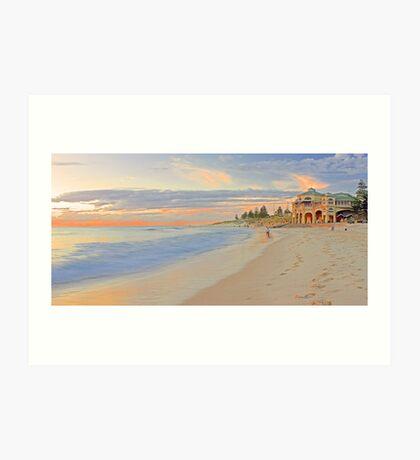 Cottesloe Beach - Western Australia  Art Print