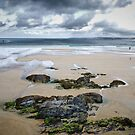 Tide's out at Newquay... by Tigersoul