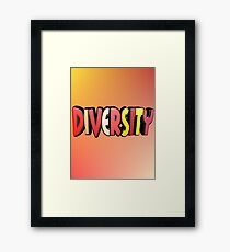 Autumn Diversity Framed Print