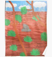 Desert Outback Poster