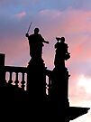 Statues in Santiago de Compostela by Jasna