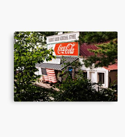 Rabbit Hash 4th of July Canvas Print