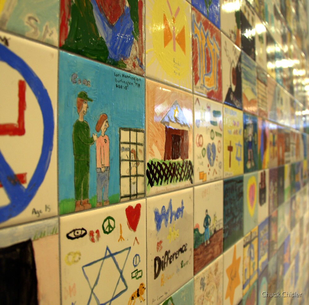 Children's Art of the Holocaust Museum by Chuck Chisler