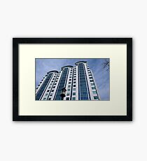Downtown Bethesda Framed Print