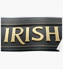 Irish! Poster