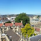 Oxford rooftops from St. Mary's Church tower by nealbarnett