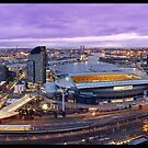 Melbourne Twighlight by Jonathan Newton