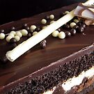 Chocolate truffle cake 2 by Tracy Friesen