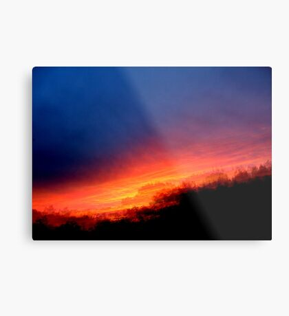 Sequential Sunset Metal Print