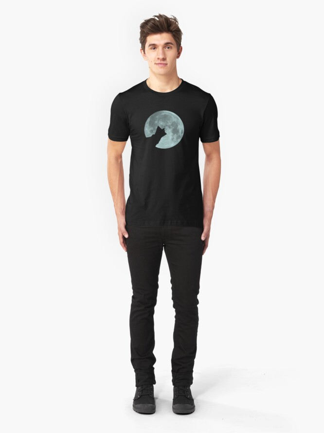 Alternate view of Wolf Collar Slim Fit T-Shirt
