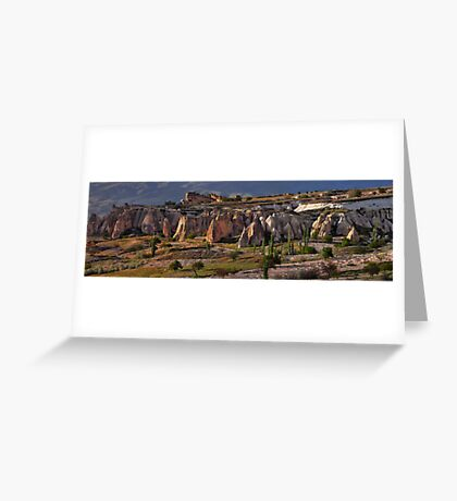 A Valley in Cappadocia Greeting Card